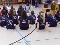 2011-10-30 Bezirksmeisterschaften U11 - U19 in Weilburg Trikots von hinten