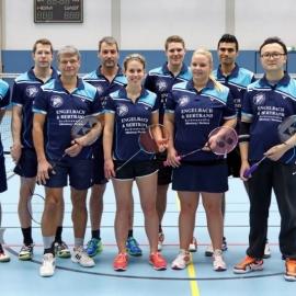 2016-11-27 TV 1843 Dillenburg BADMINTON 2. Mannschaft stehend
