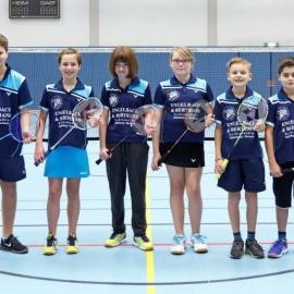 2016-11-27 TV 1843 Dillenburg BADMINTON U13-Mannschaft