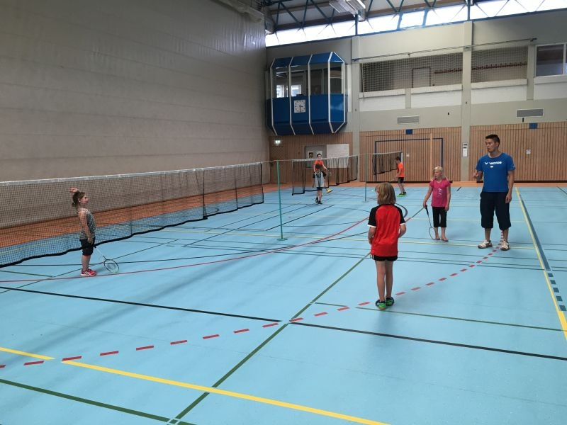 2017-08-07 Ferienpass Badminton (3) Turnier