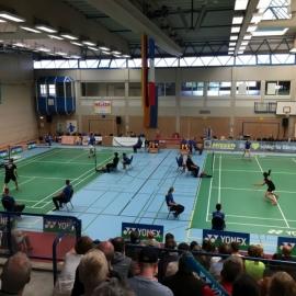 2017-09-10 Badminton-Länderspiel Dillenburg U19 Deutschland - Frankreich