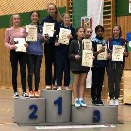 2018-01-14 Siegerehrung SWD-Meisterschaft MD U13 Josefine Hof