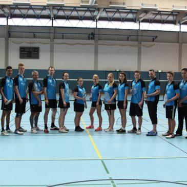 Badmintonabteilung beim Hessentag in Herborn