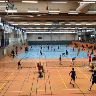 Bundesweiter Badminton-Nachwuchs in Dillenburg zu Gast
