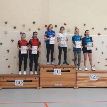 Lily Herrmann und Lena Sommavilla gewinnen D-Rangliste