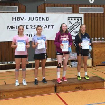 Josefine Hof Dritte bei Hessenmeisterschaft