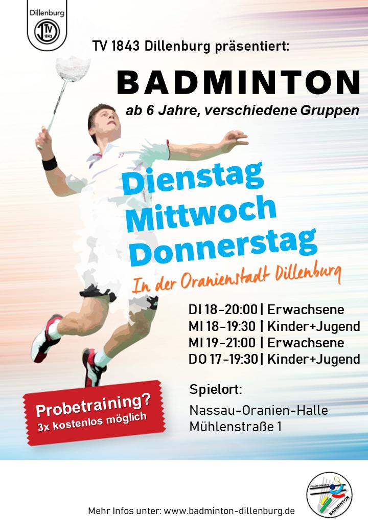 TV 1843 Dillenburg Badminton
