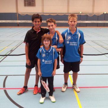 U15-Mannschaft mit 4. Sieg im 4. Spiel