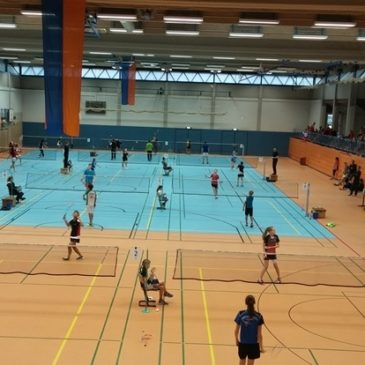 Lisa Löhr hessische Vizemeisterin im Damendoppel U19