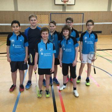 Schülermannschaft wird Vize-Mannschaftsbezirksmeister