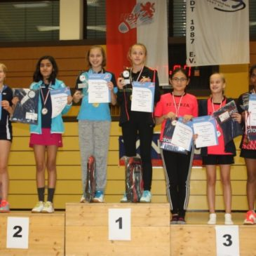 Josefine Hof bei südwestdeutscher Meisterschaft